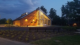 Image shows the newly constructed River View Building at Occoquan Regional Park in Lorton.