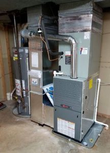 Expert furnace and hot water heater installation by DM Select Services crew.