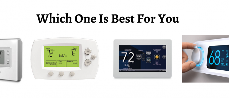 Why Are There Different Types Of Hvac Thermostats  Which Is Best